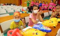 Trung thu cho trẻ em có hoàn cảnh khó khăn