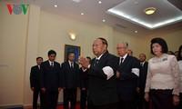 Đại sứ quán Việt Nam tại Campuchia tổ chức Lễ viếng Chủ tịch nước Trần Đại Quang