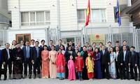 Chủ tịch Quốc hội Nguyễn Thị Kim Ngân gặp gỡ cộng đồng người Việt Nam tại Thổ Nhĩ Kỳ