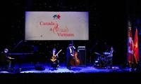 Hòa nhạc Jazz kỷ niệm 45 năm thiết lập quan hệ ngoại giao Việt Nam-Canada