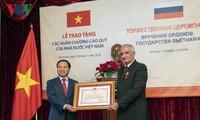 Bạn bè Nga tự hào nhận phần thưởng cao quý của Nhà nước Việt Nam