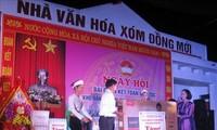 Trưởng ban Dân vận Trung ương Trương Thị Mai dự Ngày hội Đại đoàn kết toàn dân tộc tại Hòa Bình