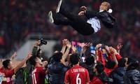 Huấn luyện viên Park Hang-seo được truyền thông Hàn Quốc ca ngợi như người hùng