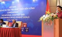"""Hội nghị """"Quốc hội và các mục tiêu phát triển bền vững"""""""