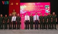 Phó Thủ tướng Trương Hòa Bình thăm và chúc Tết tại Long An