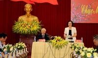 Tổng Bí thư, Chủ tịch nước Nguyễn Phú Trọng làm việc với Tỉnh Yên Bái