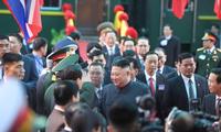Đoàn tàu chở Chủ tịch Kim Jong-un đã tới ga Đồng Đăng, Lạng Sơn