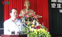 Phó Thủ tướng Vũ Văn Ninh tiếp xúc cử tri tại huyện Trực Ninh (Nam Định)