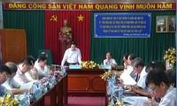 Đoàn giám sát của Ủy ban Thường vụ Quốc hội làm việc tại Tiền Giang