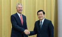 Chủ tịch nước Trương Tấn Sang: Quan hệ Việt Nam - Hoa Kỳ đang đứng trước tương lai đầy triển vọng
