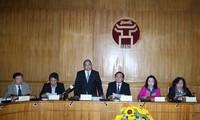 Phó Thủ tướng Nguyễn Xuân Phúc kiểm tra tình hình triển khai công tác bầu cử tại Hà Nội