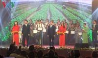 Lễ trao thưởng tác phẩm văn học nghệ thuật về nông nghiệp và xây dựng nông thôn mới