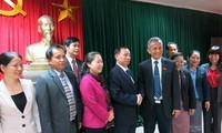 Chủ tịch Tổng Liên đoàn Lao động Việt Nam tiếp Đoàn đại biểu cao cấp Liên hiệp công đoàn Lào