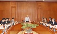 TBT Nguyễn Phú Trọng chủ trì cuộc họp Ban Chỉ đạo Trung ương phòng chống tham nhũng