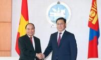 Hội đàm cấp cao Việt Nam - Mông Cổ