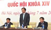 Công tác tổ chức, nhân sự cấp cao là nội dung trọng tâm của Kỳ họp thứ nhất, Quốc hội khóa XIV