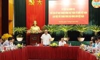 Chủ tịch Ủy ban TƯ Mặt trận Tổ quốc Việt Nam làm việc với Hội Nông dân Việt Nam