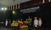 Lễ viếng và tiễn đưa Nguyên Phó Chủ tịch Quốc hội Trương Quang Được