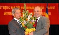 Gặp gỡ hữu nghị nhân kỷ niệm Quốc khánh Rumani