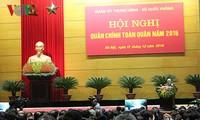 Tổng Bí thư Nguyễn Phú Trọng: Xây dựng thế trận lòng dân và lực lượng Quân đội vững mạnh toàn diện