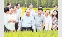 Thủ tướng Nguyễn Xuân Phúc thăm và làm việc tại tỉnh An Giang