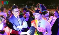 """Thí sinh tỉnh Điện Biên đoạt danh hiệu """"Người đẹp Hoa Ban"""""""