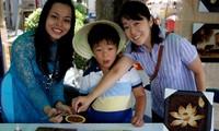 ภาพที่ทำจากเมล็ดข้าวของเวียดนาม