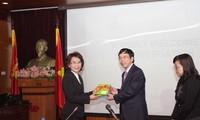 การขยายความร่วมมือระหว่างสถานีวิทยุเวียดนามกับกรมประชาสัมพันธ์ของไทย