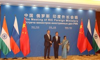 Russian, Indian, Chinese foreign ministers' meeting issues joint communiqué