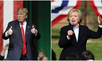 US election 2016: Hillary Clinton's lead over Donald Trump narrowed