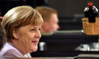 Merkel urges United States to continue international cooperation