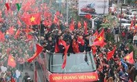 World media stunned by ceremony to welcome U23 Vietnam team home