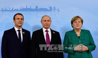 Russia, France, Germany discuss Syria issue