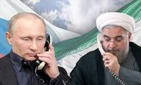 Russian, Iranian leaders discuss Syria situation