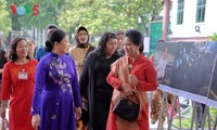 Indonesian President's wife Iriana Joko Widodo welcomed at Vietnamese Women's Museum