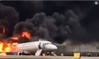 41 reported killed when Russian aircraft catches fire