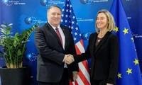 EU urges for restraint towards Iran