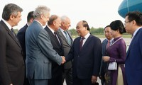 Prime Minister begins official visit to Russia