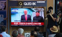 North Korean media praises historic summit of US and North Korea leaders