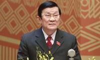 ประธานประเทศเวียดนามจะเดินทางไปเยือนอินโดนีเซียอย่างเป็นทางการ