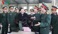 ท่านเจืองเติ๊นซางประธานประเทศเวียดนามลงพื้นที่จังหวัดแทงฮว้า