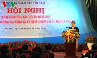 ประธานประเทศเวียดนามกำชับให้หน่วยงานศาลไม่ต้องปล่อยคนผิดลอยนวลและลงโทษผิดคน