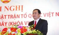 Chủ tịch Ủy ban Trung ương MTTQ Việt Nam Trần Thanh Mẫn thăm, chúc mừng Hội Cựu chiến binh Việt Nam