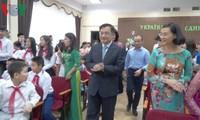 Khai giảng lớp học tiếng Việt tại thủ đô Kiev (Ukraine)