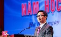 Phó Thủ tướng Vũ Đức Đam dự Khai giảng Trường Đại học Sân khấu – Điện ảnh Hà Nội