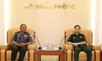 Tổng Tham mưu trưởng QĐND Việt Nam tiếp Phó tư lệnh Hiến binh Quân đội Hoàng gia Campuchia