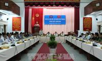 Đoàn công tác của Bộ Kế hoạch Campuchia làm việc tại tỉnh Hậu Giang