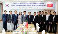Hà Nam tăng cường hợp tác với tỉnh Gyeonggi, Hàn Quốc