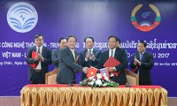 Hợp tác về thông tin và truyền thông Lào-Việt