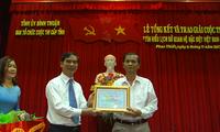 """Trao giải cuộc thi """"Tìm hiểu lịch sử quan hệ đặc biệt Việt Nam- Lào"""""""